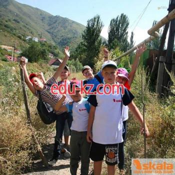 Детский спортивно-познавательный лагерь SKALА в городе Алматы