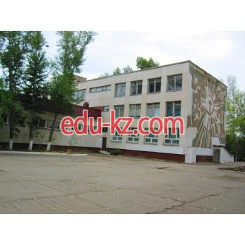 Школа №22 в Костанае - School