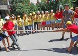 Детский лагерь Сары-Арка в Каскелене