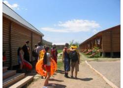 Детский летний эколого-краеведческий лагерь на озере Алаколь