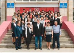 Architecture and construction College in Aktobe