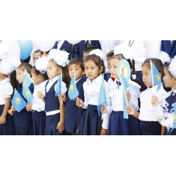 45 thousand children will go to first grade this year in Almaty region.