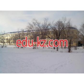 Школа №25 в Актобе - School
