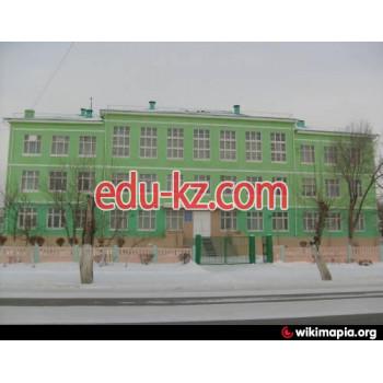 Школа №13 в Рудном - School