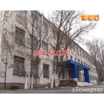 Школа №22 в Темиртау - School